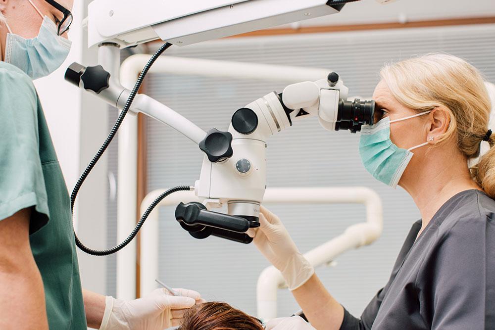 Zahnarzt Köln-Bayenthal - Dr. Andrea Fedder - Leistungen - Endodontie